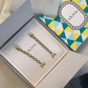 Stella & dot Trevally earrings, wear 2 Ways